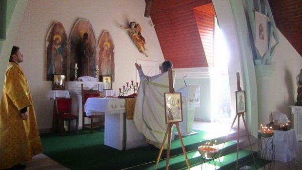 Праздник Сретения Господня отмечали на православном приходе Хевиза