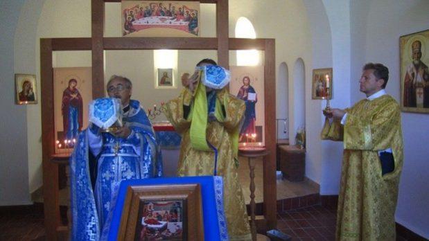 Праздник «Рождество Пресвятой Богородицы» в Хевизском приходе