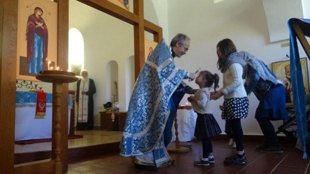 В Хевизском приходе отметили праздник Рождества Пресвятой Богородицы