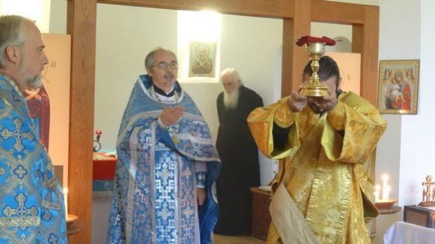 Хевизский приход отметил праздник Покрова Пресвятой Богородицы