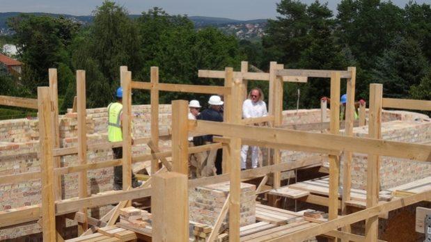 Строительство Хевизского храма: 20-25 июля