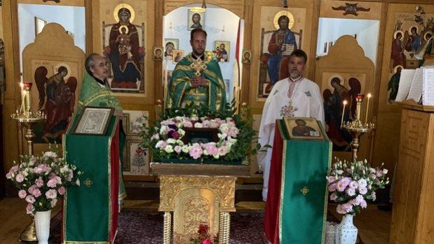 День памяти преподобного Моисея Угрина священники Венгрии отметили соборным служением в Дебрецене