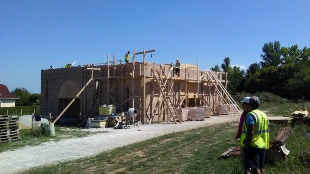 Строительство Хевизского храма: 27 июля – 1 августа